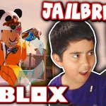 MY LITTLE BROTHER PLAYS ROBLOX JAILBREAK FOR THE FIRST TIME!! by TwiistedPandora
