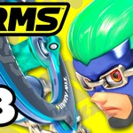 ARMS - Gameplay Walkthrough Part 3 - Ninjara Grand Prix Level 4! (Nintendo Switch) by ZackScottGames