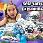 Hatchimals CollEGGtibles | Egg Hunt and Exploding Eggs