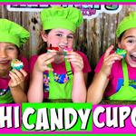 DIY Sushi Candy Cupcakes