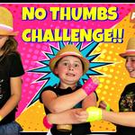 Wild Adventure Girls No Thumbs Challenge
