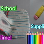 Recreating School Supplies as Slime