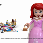 Ariel's Royal Celebration Boat; LEGO Disney 41153