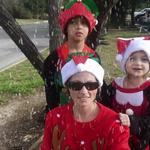 #KidfluencerHolidays Ugly Christmas Sweater Challenge