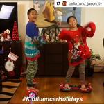 #KidfluencerHolidays Sweater Challenge