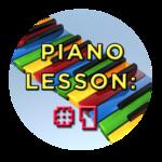 Piano Lesson #1