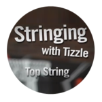 Triangle Top String