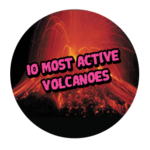 10 Most Active Volcanoes