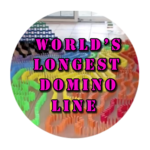 World's Longest Domino Line