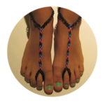 Rainbow Loom Barefoot Sandals Tutorial