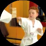 Learning Tae Kwon Do
