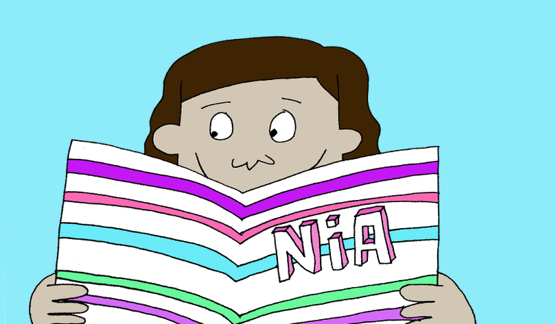 Meet Kerry Warkia, Creator of Nia's Extra Ordinary Life!