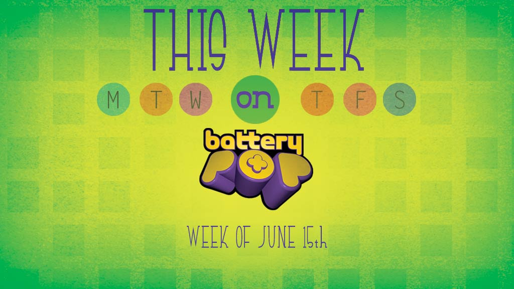 Major League Soccer, Robots in Space, and introducing Brain Zapped! This Week on batteryPOP- June 15, 2015