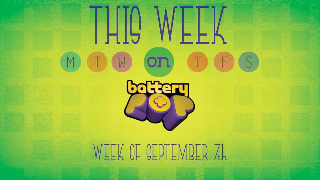 New music from OUTER SPACE, and BMX action...This Week on batteryPOP (September 7,2015)!