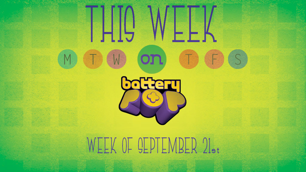 Shopkins, HuevoCartoons and Extreme Sports...This Week on batteryPOP! September 21, 2015