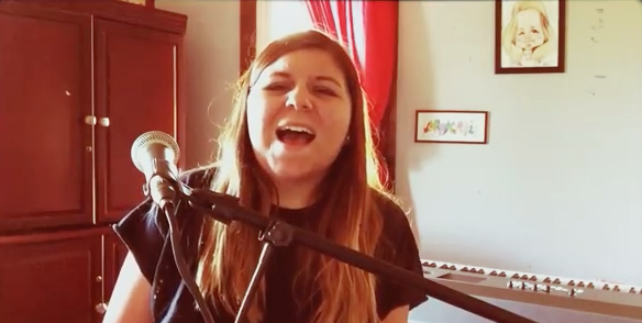 MEET ABBI LOVE, THE 14 YEAR OLD SINGER/SONGWRITER!