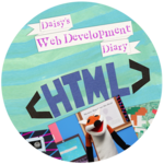 Daisy's Web Development Diary